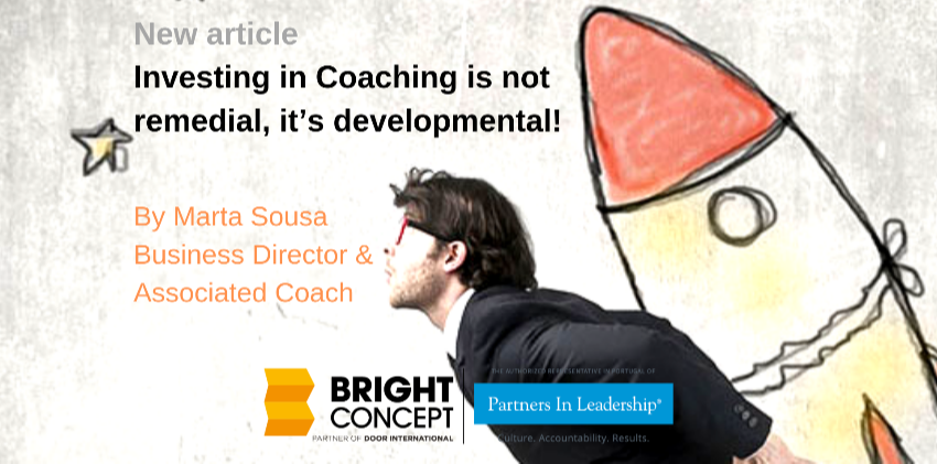 Investing in Executive Coaching is not remedial, it's developmental!