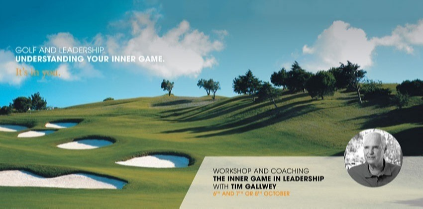 "Bright Concept invites Tim Gallwey to present ""The Inner Game of Leadership"" Workshop in Lisbon"