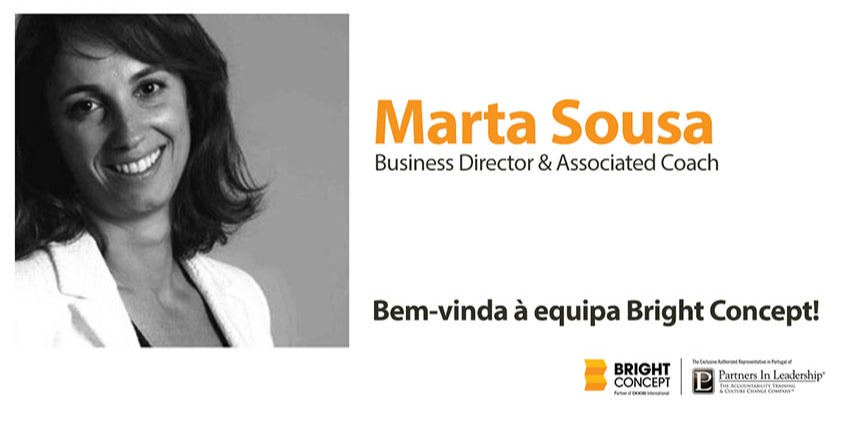Marta Sousa regressa a Portugal e integra a Bright Concept como Business Director & Associated Coach