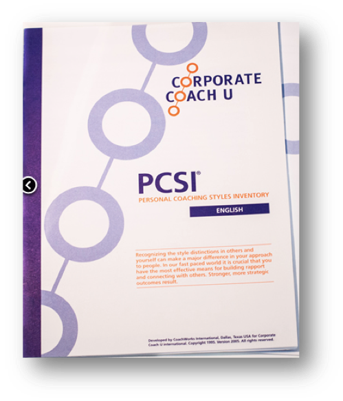 PCSI – Personal Coaching Styles Inventory