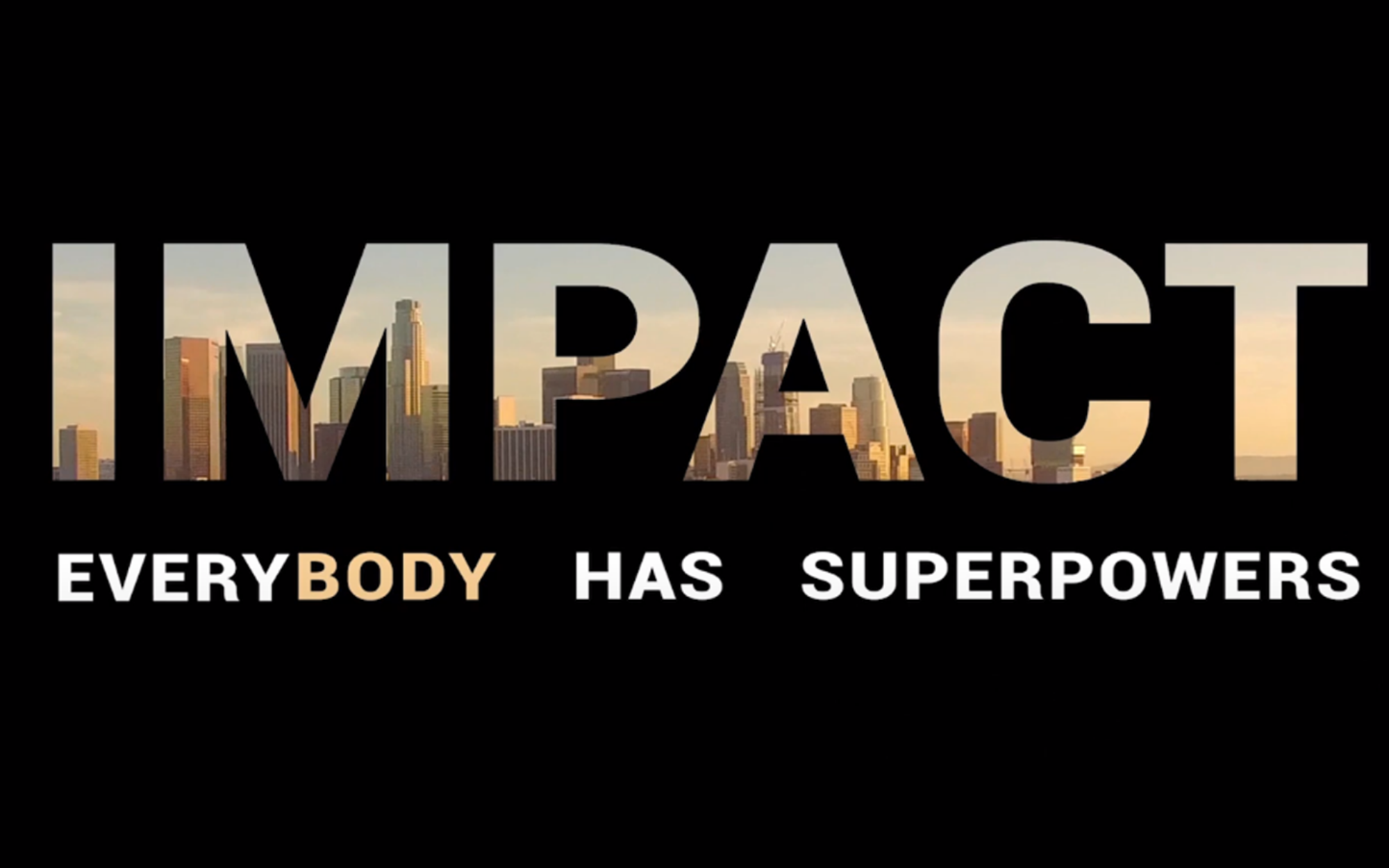 IMPACT film Trailer Bright Concept - Develop your own potencial and your teams. It's in You.